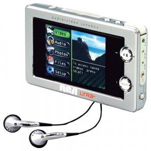 RCA RD2780 LYRA - 20GB Audio-Video Jukebox - MPEG4 Viewer