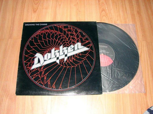 DOKKEN BREAKING THE CHAINS VINYL LP RECORD