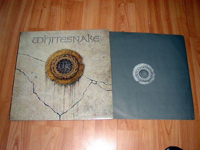 WHITESNAKE VINYL LP RECORD