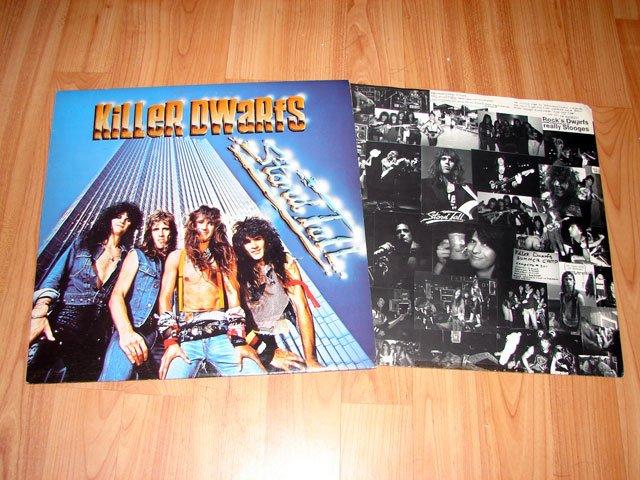 KILLER DWARFS STAND TALL VINYL LP RECORD