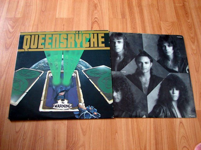 QUEENSRYCHE THE WARNING VINYL LP RECORD