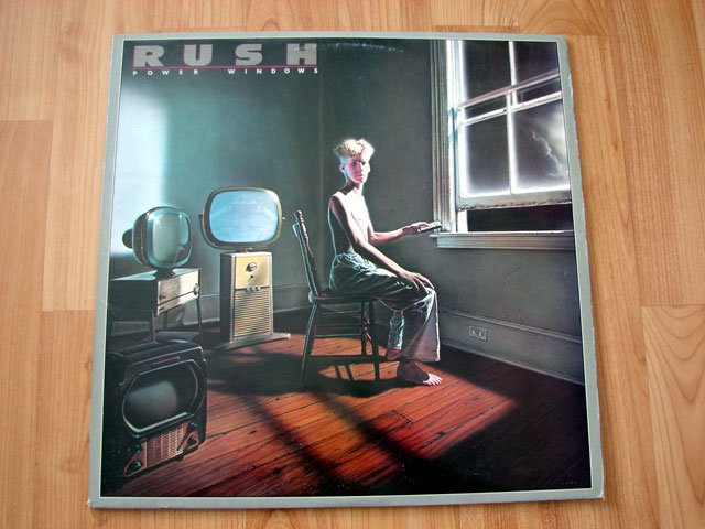 RUSH POWER WINDOWS VINYL LP RECORD