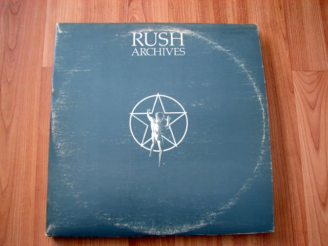 RUSH ARCHIVES VINYL LP RECORD