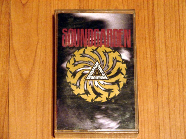 SOUNDGARDEN BADMOTORFINGER TAPE