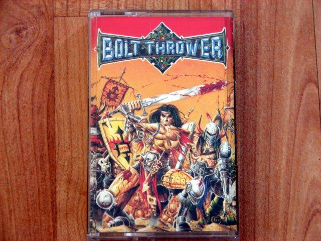 BOLT THROWER WAR MASTER TAPE