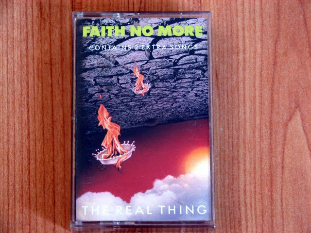 FAITH NO  MORE THE REAL THING TAPE