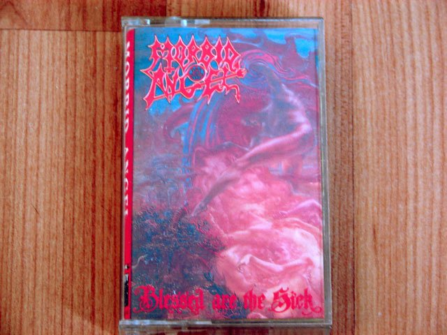 MORBID ANGEL BLESSED ARE THE SICK TAPE