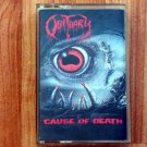OBITUARY CAUSE OF DEATH TAPE