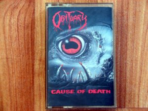 OBITUARY CAUSE OF DEATH TAPE
