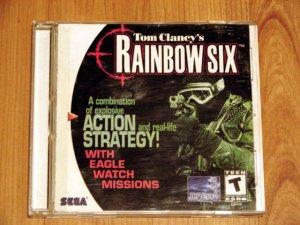 SEGA Dreamcast Rainbow Six Game