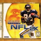 SEGA Dreamcast NFL 2K Game