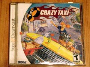 SEGA Dreamcast Crazy Taxi Game