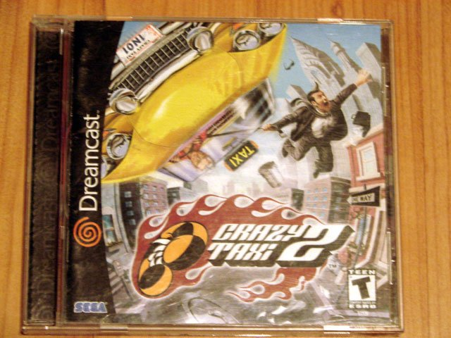 SEGA Dreamcast Crazy Taxi 2 Game