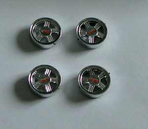 GMC FACTORY MAG WHEELS 1:24 - 1:25