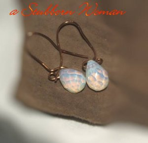 Copper and Opalite Wigglies