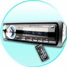 MP3 MP4 WMA 1-Din Car DVD Player - SD Card Reader