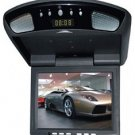 8 Inches Flip Down TFT LCD Monitor, Built-in Digital Quartz Clock, TV