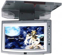 7 inches Revolving Roof Mounted Car Monitor, w/IR,