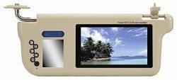 7 inches Sun Visor Monitor, 800xRGBx480 Pixels, 16:9 TFT LCD Monitor