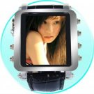 Mens Metallic Watch MP4 Player 1GB - 1.5inch OLED Screen