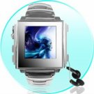 1GB High Fashion ALL METALIC Mens MP4 Watch - 1.5 Inch OLED Screen