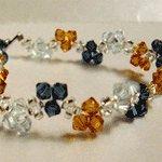 Sweet Trinity Crystal Bracelet (Crystal/Topaz/Capri)