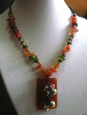 Carnelian Beauty Necklace