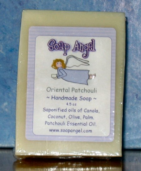 Natural Handmade Oriental Patchouli Soap 4.5oz
