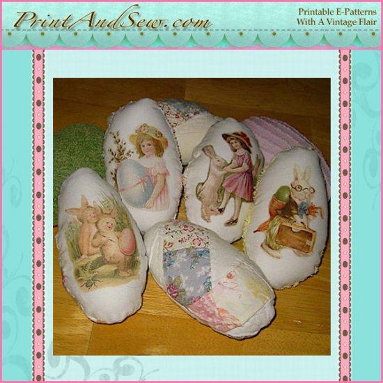 Vintage Easter Egg Ornies - Bowl Fillers EC