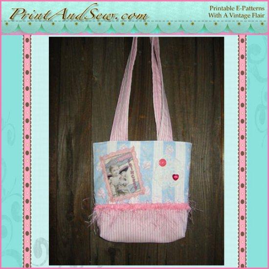 Altered Art Purse- Pretty Princess E-Pattern EC