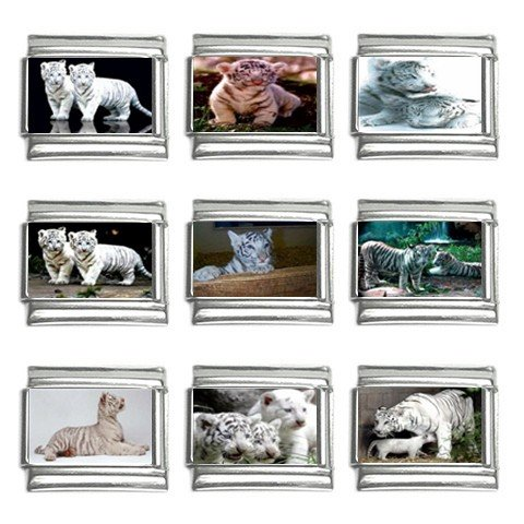 Italian Charm 9 pack 9mm White Tiger 13452708