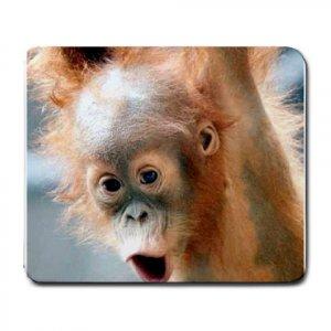Baby Orangutan Mouse pad large  13621484