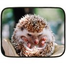 HEDGEHOG Design Lap size FLEECE BLANKET Bedding 20927668