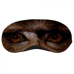 Baboon MONKEY Face SLEEPING MASK Polyester foam Wild animals 22735084