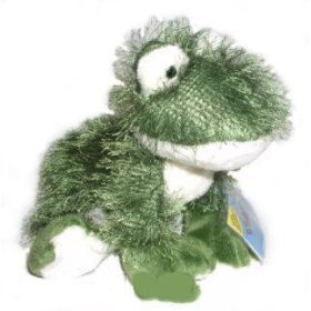 "Webkinz 8.5"" Fuzzy Frog New Plush Pet with Secret Code"