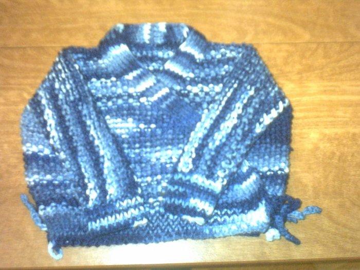 Knited surplus sweater 0-6months