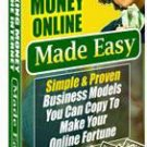 Making Money Online Made Easy