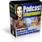 Podcast Teleprompter