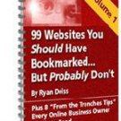 99 Websites You Should Have Bookmarked