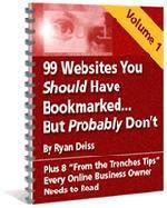 99 Websites You Should Have Bookmarked