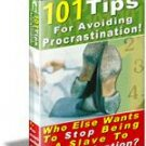 101 Tips for Avoiding Procrastination Get MORE Done NOW
