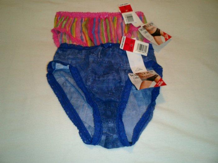 Warner's Panties Size 5 - 2 pairs