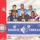 2007 Upper Deck SP Rookie Threads Football Hobby 10 Box Case