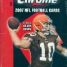 2007 Topps Chrome Football Hobby Box