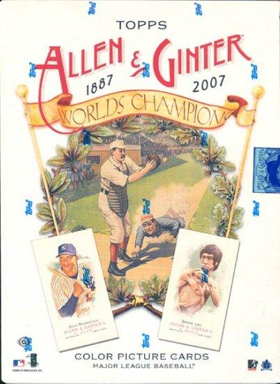 2007 Topps Allen & Ginter Baseball Hobby Box