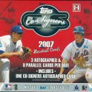 2007 Topps Co-Signers Baseball Hobby Box