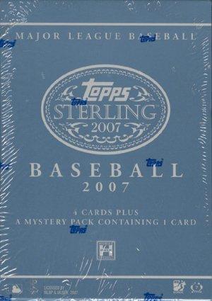 2007 Topps Sterling Baseball Hobby Box