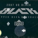 2007 Upper Deck Black Baseball Hobby Box