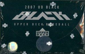 2007 Upper Deck Black Baseball Hobby Box