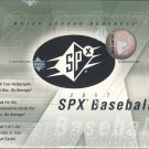 2007 Upper Deck SPx Baseball Hobby Box